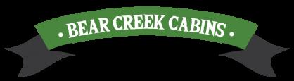 Bear Creek Cabins Name